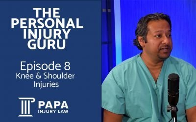 Knee and Shoulder Injuries Following an Accident or Trauma